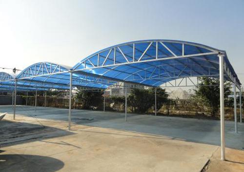 钢结构雨阳棚