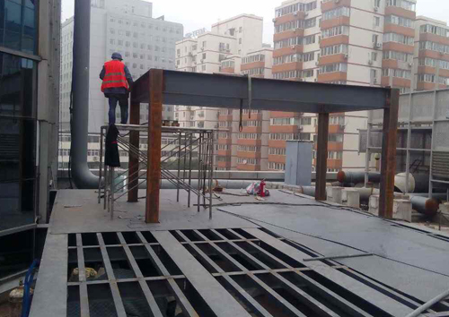 钢结构隔断平台